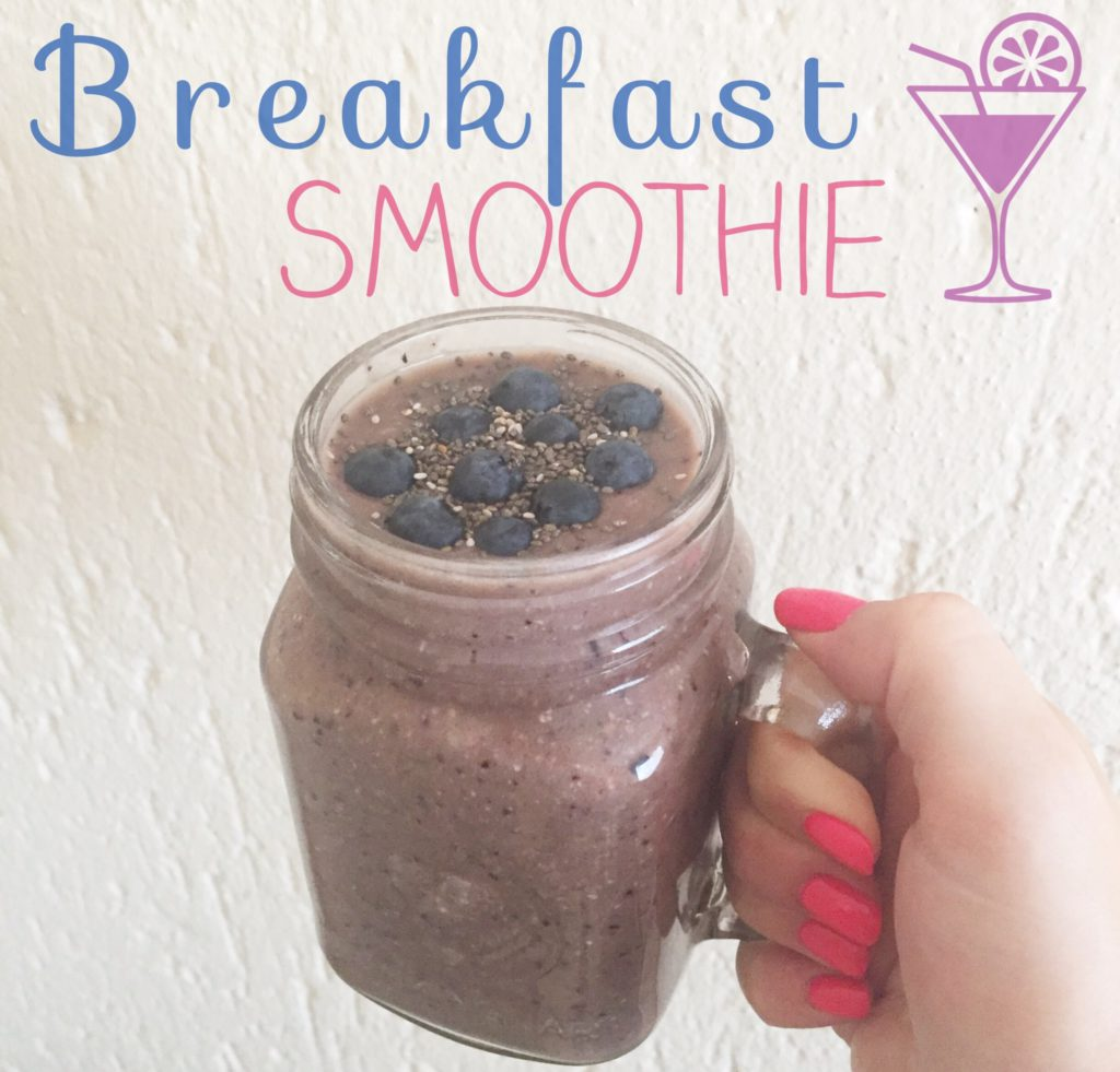 A Berry Delicious Breakfast Smoothie