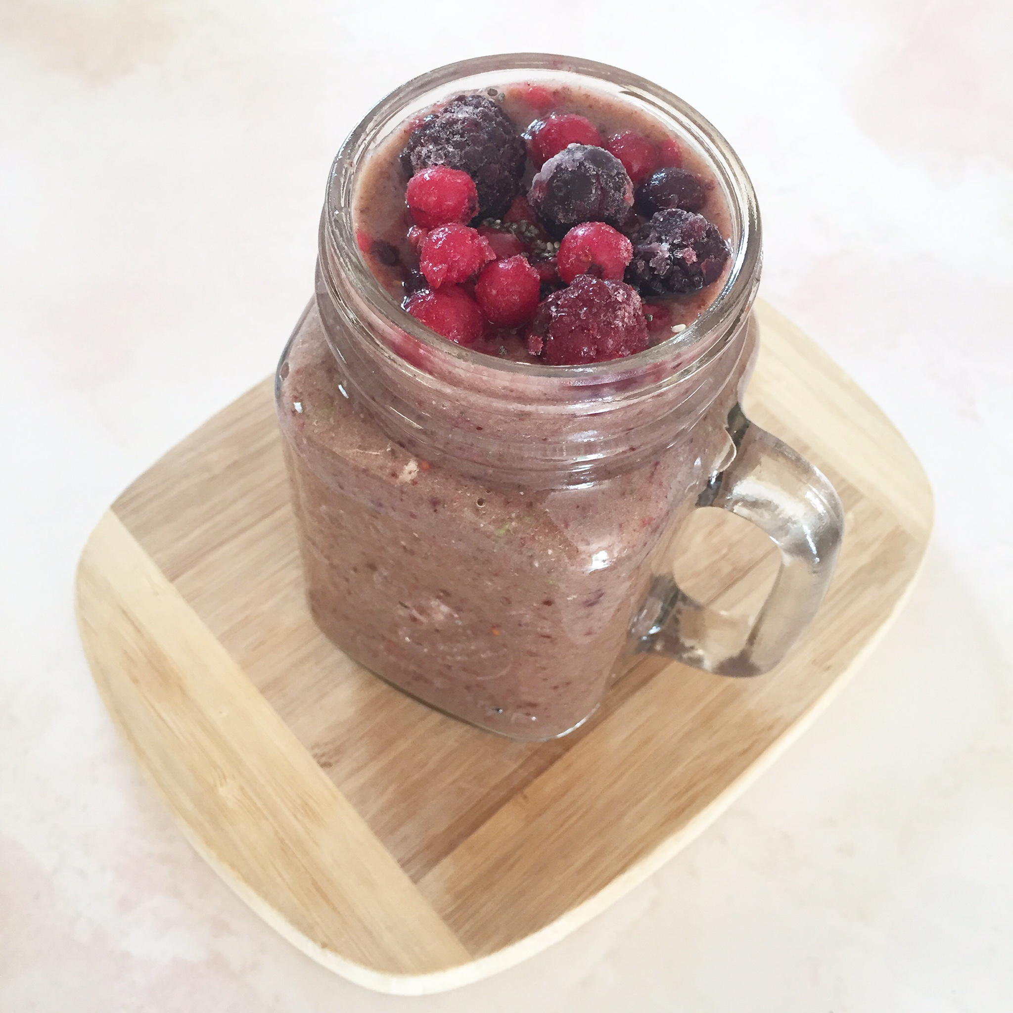 Smoothie: An Apple a Day and Some Berries