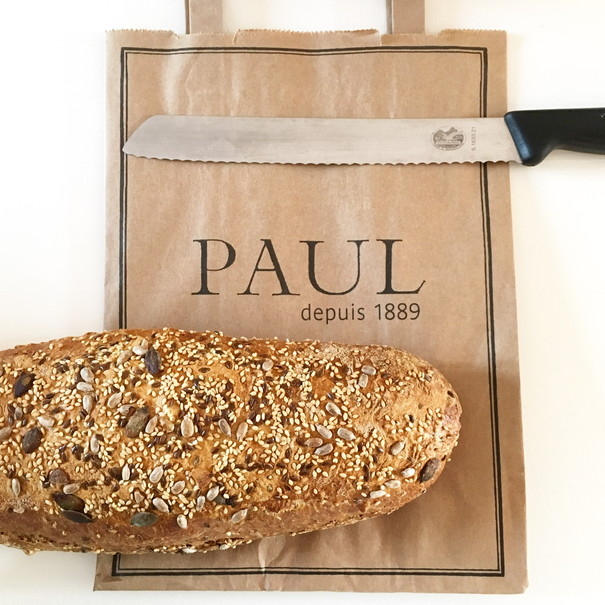 Delicious French Treats And Baking Bread At The New Paul Bakery