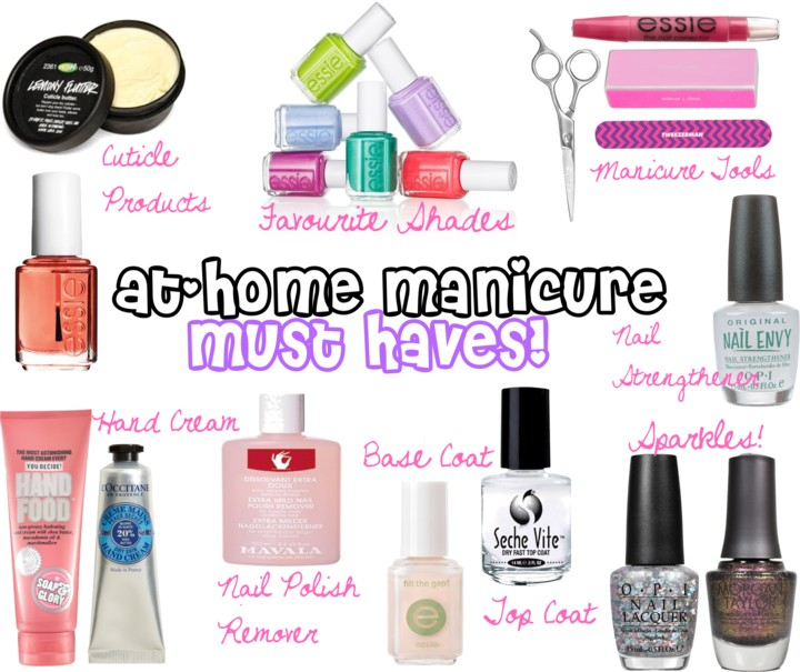 At home manicure must haves